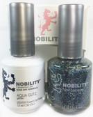 Lechat Nobility Gel and Polish Duo - Aqua Glitz  (0.5 fl oz)
