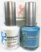 Lechat Nobility Gel and Polish Duo - Cool Blue (0.5 fl oz)