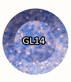 CHISEL 2IN1 ACRYLIC & DIPPING 2OZ - GLITTER COLLECTION -GL14
