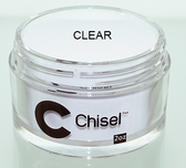 CHISEL 2IN1 ACRYLIC & DIPPING 2OZ - PINK & WHITE -CLEAR