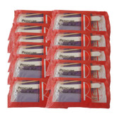 Red Nail Pedicure Pumice Kit  - 10 pcs