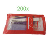 Red Nail Pedicure Pumice Kit  - 200 pcs