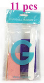 G-Disposable Pedicure Pumice Kit  - 11 pcs