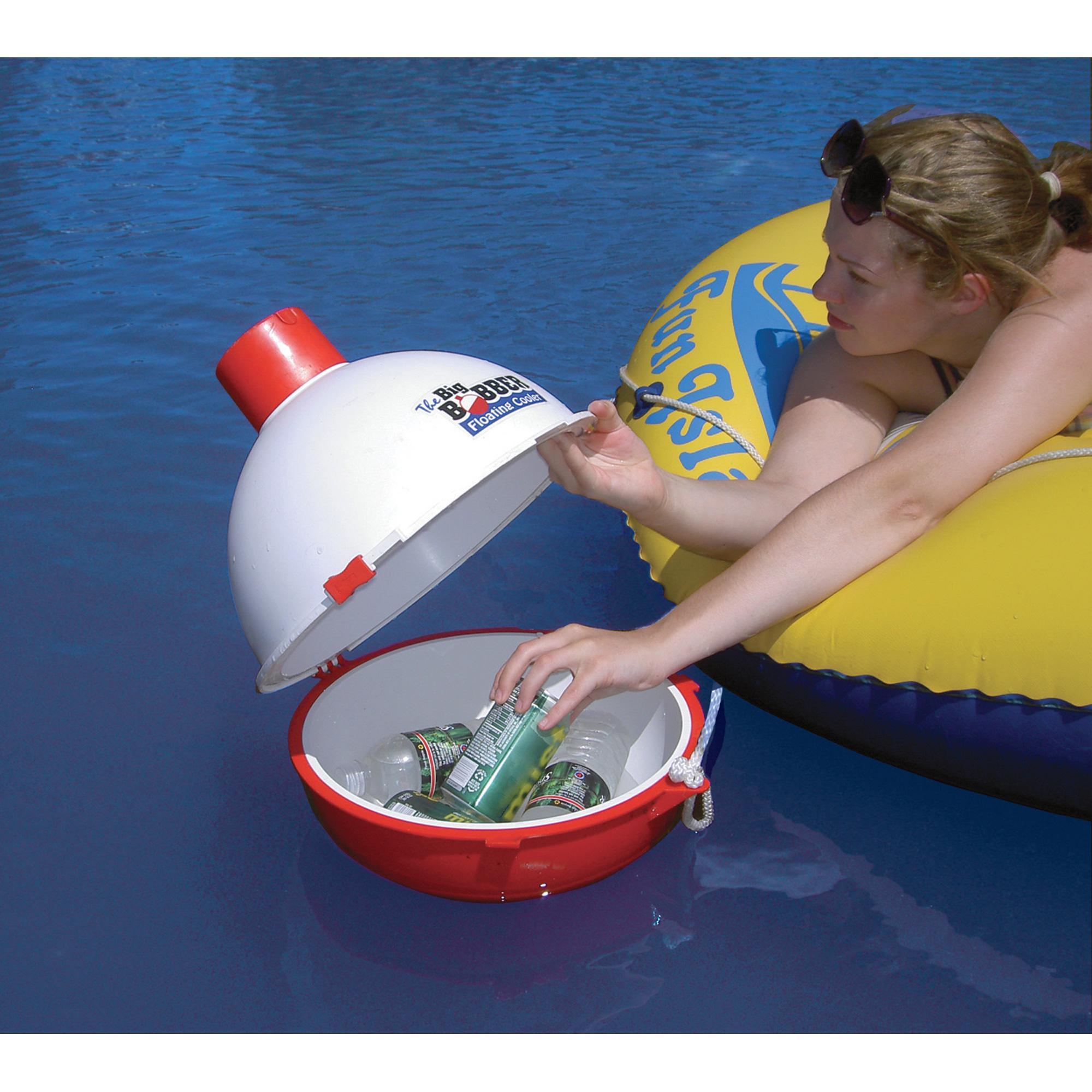 Big Bobber Floating Coolers - Bobber Shaped Floating Cooler