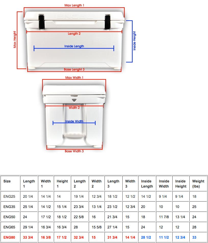 engel 80 quart cooler deepblue performance cooler. Black Bedroom Furniture Sets. Home Design Ideas