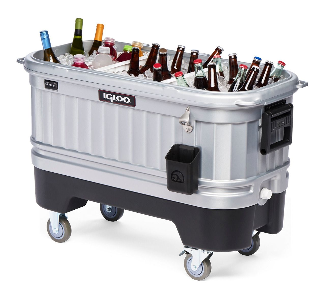 Igloo Party Bar Coolers - Lighted Interior - Separated Compartments