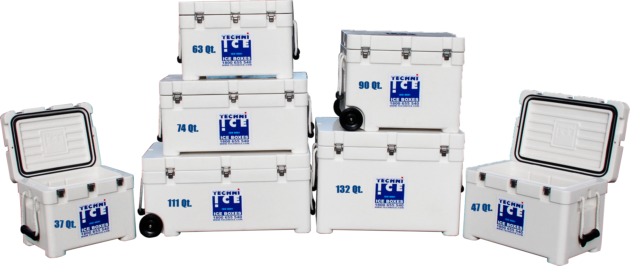 techniice premium cooler ice chest series