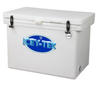 Icey-tek 120  quart cooler white