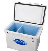 Icey-Tek 120 Quart Divided Cooler Inside