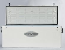 600 Quart Icey-Tek Cooler Long Box - Open Lid