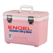 Engel 13 Quart Cooler / Dry Box - Pink