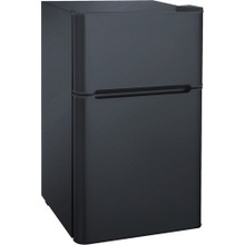 Igloo 3.2 cu. ft. 2-Door Refrigerator and Freezer - Black