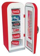 Coca Cola Vending Machine Retro Style Refrigerator - Model CVF18