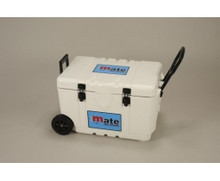 IceMate 58 Qt. Wheeled Cooler - White