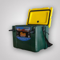 Canyon Outfitter Cooler - 22qt. - Green & Gold Cooler