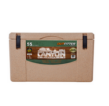 Canyon 55 Quart Sandstone Outfitter Ice Chest Cooler