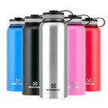 Winterial 40 ounce growler comes in black stainless red pink and blue