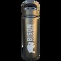 Bison 18 ounce bottle black