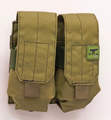 ORCA GEAR Quad Magazine Holder Desert Green