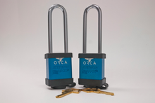 ORCA PRO Series Locks Set of 2 Blue