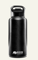 Bison Bottle – 32 ounce stainless steel black