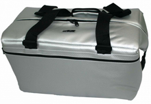 AO Carbon 48 pack soft cooler silver