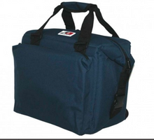 AO Deluxe Canvas 12 pack soft cooler bag Navy Blue