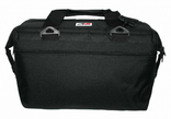 AO 24 Pack Canvas Cooler Soft Bag Black