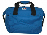 AO Deluxe Canvas 24 pack soft cooler bag Royal Blue