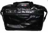 AO 24 Pack vinyl soft cooler Black