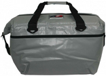 AO 48 pack vinyl soft cooler Silver