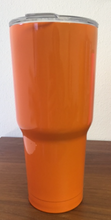 Taiga 30 ounce Tumbler Powder Coated Orange