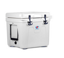 Lit Cooler Firefly TS-300 22 Quart White