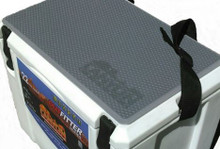 Add grip and comfort to your cooler top with Canyon Cooler's Aquatraction Pads.