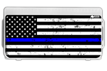 Thin Blue Line Flag Lid Graphic