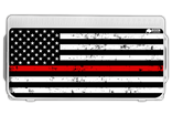 Thin Red Line Flag Lid Graphic