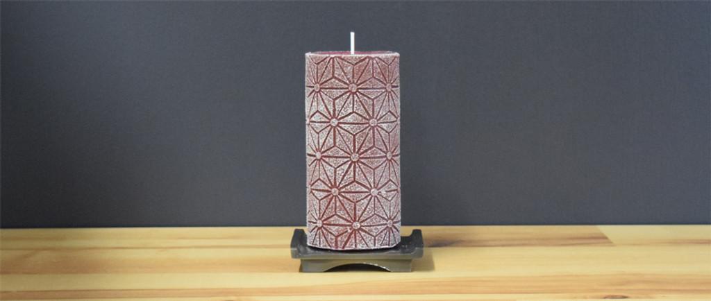 Dripless Bordeaux German Candle