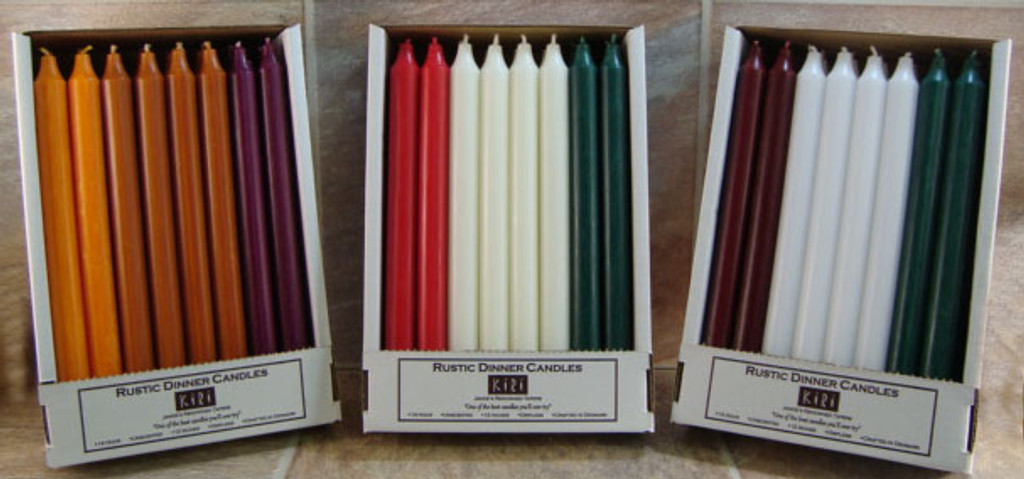 "Pack of 24 Special Sets of 12"" Kiri Tapers"