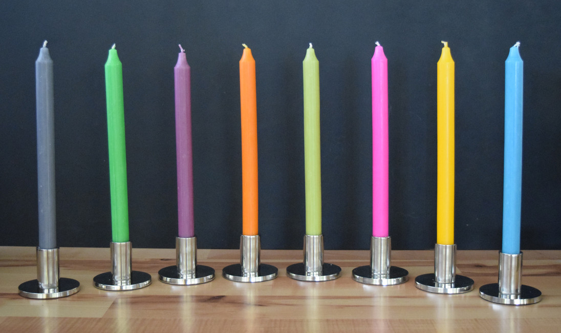 How to get the best from your tapered candles