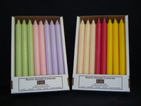 "Spring Mix 12"" Unscented Kiri Tapers"