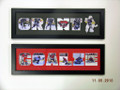 Hockey Photo Letter Collages