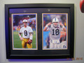 Archie-Peyton Manning Combo Collage-12 x 20