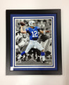 "Andrew Luck ""Blackout"" Framed 16 x 20 Photo"