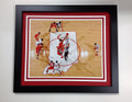 "IU ""Tip-off"" From Above Framed 16 x 20"