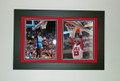 Michael Jordan North Carolina-Bulls Collage