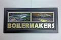 "Purdue ""BOILERMAKERS"" Framed Panoramic"