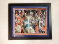 "Peyton Manning ""Career Collage"" 20 x 24"