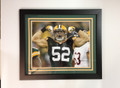 Clay Mathews Framed Green Bay 16 x 20 Photo