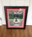 Pete Rose Autographed Red Framed 16 x 20