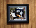Indy 500 Logo on JW Mariott-Navy or Black Matting 16 x 20